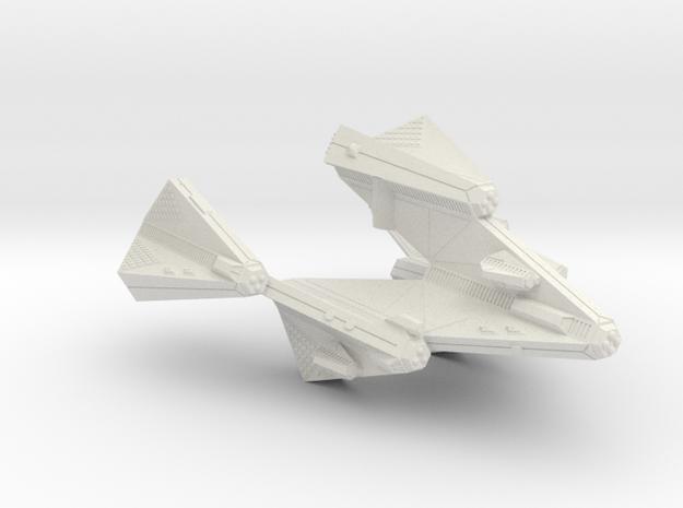 3788 Scale Tholian Stellar Dominiation Ship (SDS) in White Natural Versatile Plastic