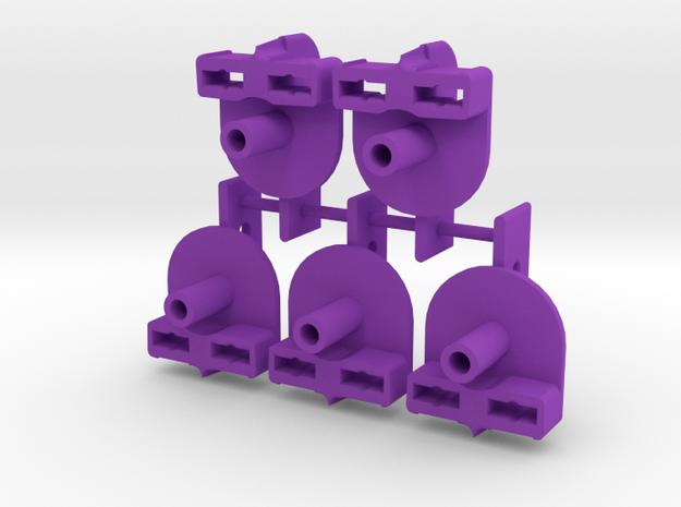 5 GUIAS RAID in Purple Processed Versatile Plastic