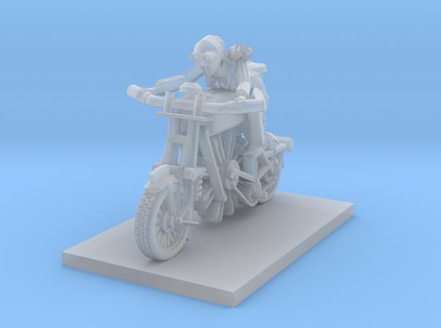 post apocalypse classic bike in Smooth Fine Detail Plastic