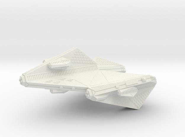 3125 Scale Tholian Space Control Ship (DNS) SRZ in White Natural Versatile Plastic