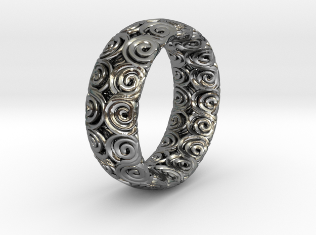 Java Ring Double Spiral