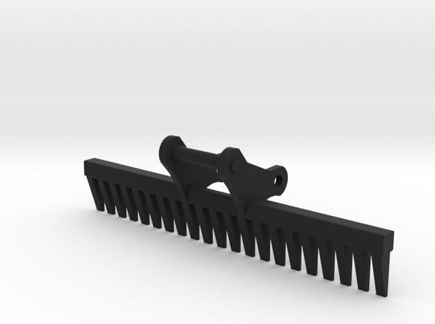 Hark voor aan 14 tons kraan 1:50 modelbouw in Black Natural Versatile Plastic