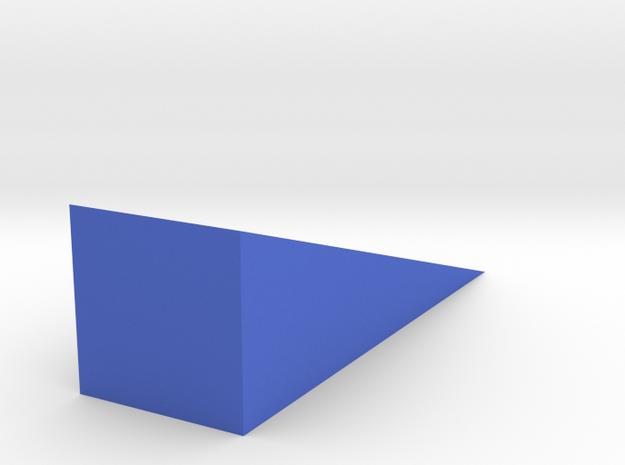 Doorstopper in Blue Processed Versatile Plastic