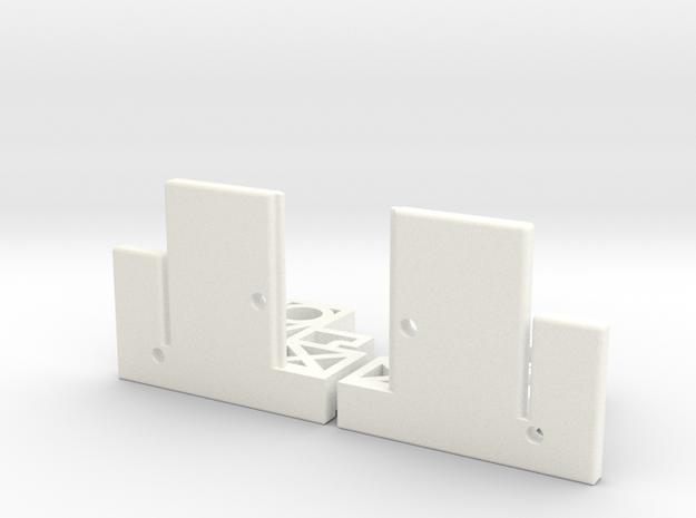 gordijn steun / curten support  in White Processed Versatile Plastic
