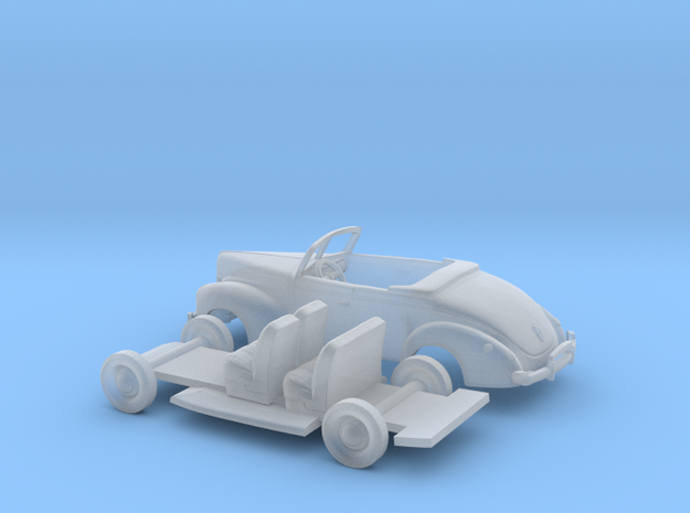 1/160 1940 Mercury Eight Convertible Kit in Smooth Fine Detail Plastic