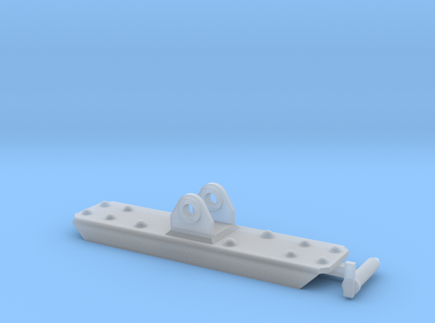 FAMO Reenforced Bumper in Smooth Fine Detail Plastic