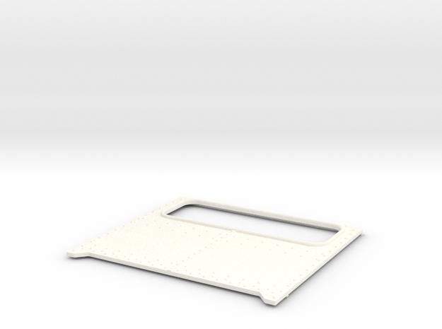 Daycab Panel for Italeri Peterbilt in White Processed Versatile Plastic