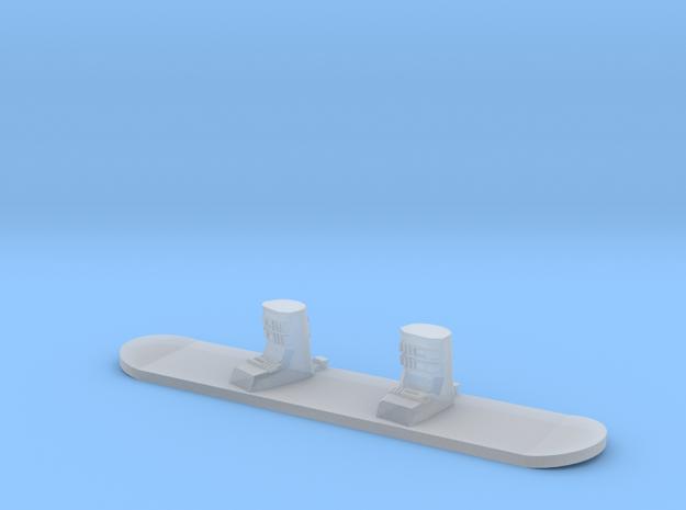 1/64 Snowboard in Smoothest Fine Detail Plastic