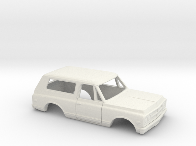 1/32 1967-72 GMC Jimmy in White Natural Versatile Plastic