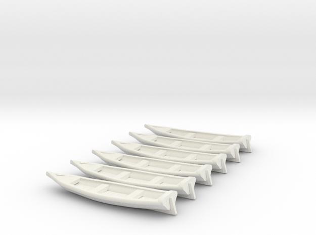 nscalenewboat_6pack heart shaped stern in White Natural Versatile Plastic