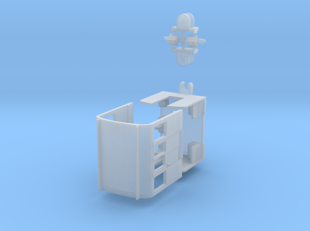 Bausatz für Hansa GT4 auf Basis Kato-Düwag, 1:160 in Smooth Fine Detail Plastic