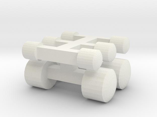 UBL Wiener Linien Scheinwerfer in White Natural Versatile Plastic