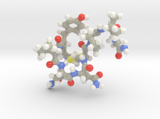 Oxytocin Keychain - Most probable conformation