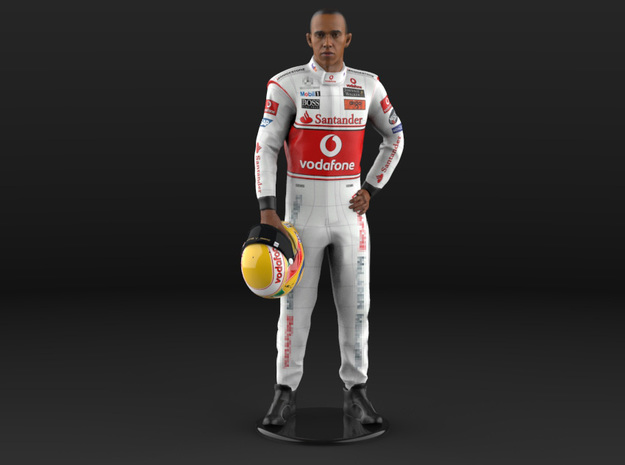 Lewis 1/8 Standing Champion Figure 2008