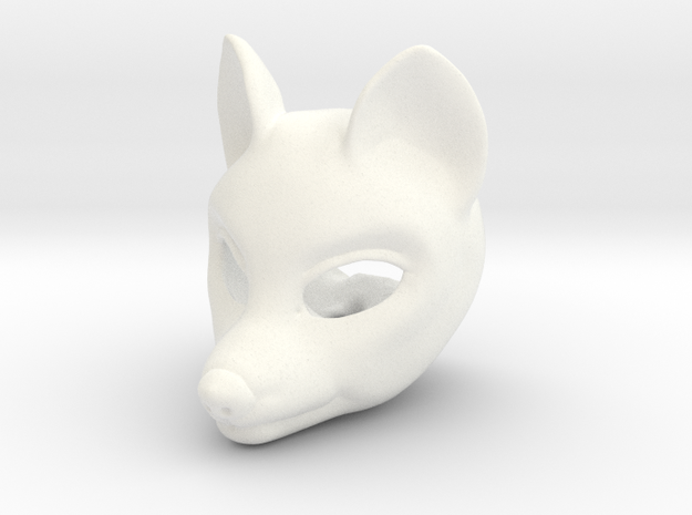 Wolfie head for Rubenesque body [FRONT]