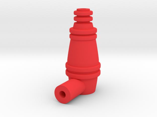 Cosmic Ray in Red Processed Versatile Plastic