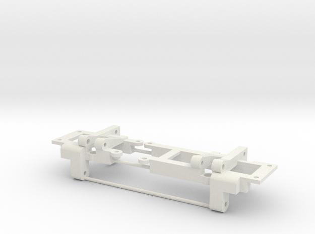 The best CC01 rear axle link/shock mount setup