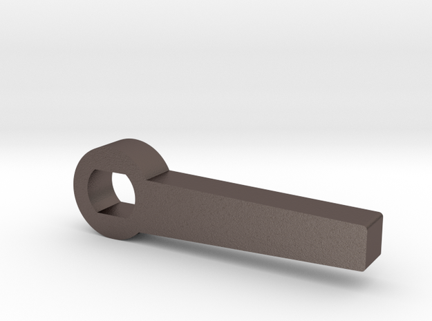 lct g3a3 safety lever part in Polished Bronzed-Silver Steel