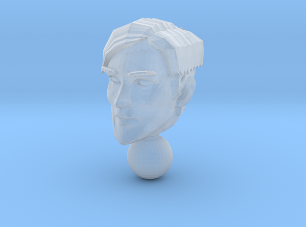 micro head 2 in Smooth Fine Detail Plastic