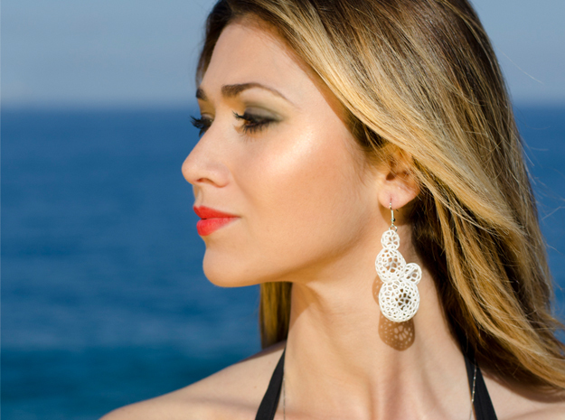 Star Coral Earring