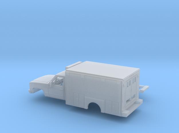 1/160 1981-88 GMC Sierra Reg Cab Ambulance Kit in Smooth Fine Detail Plastic