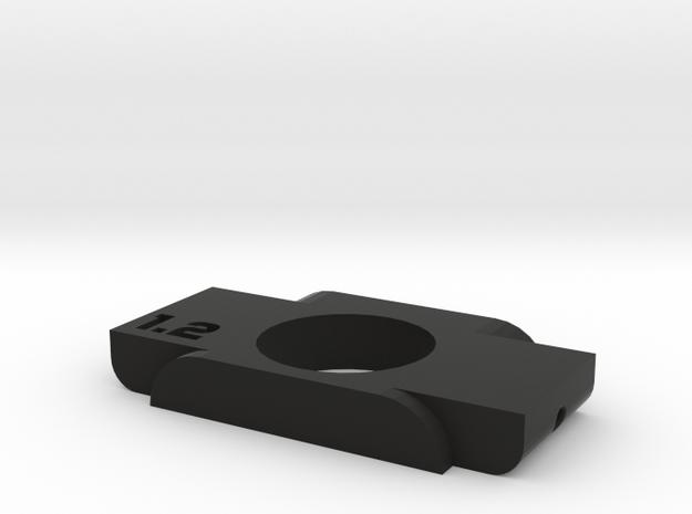 Anticondensa Billet Box Rev4  1.2 in Black Natural Versatile Plastic