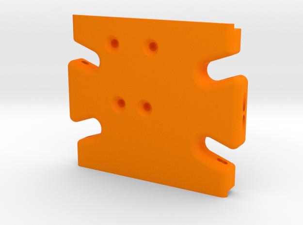un-Stuck Gen2-AX skid in Orange Processed Versatile Plastic