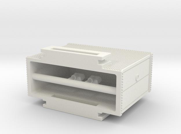 1/64 Mack CF rear mount cabinet section