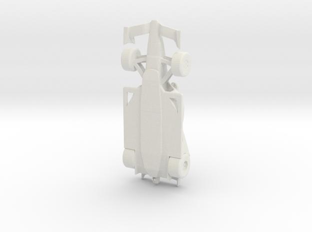 2018 Indycar 1/32 scale in White Natural Versatile Plastic