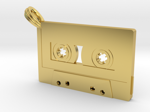 Cassette in Polished Brass