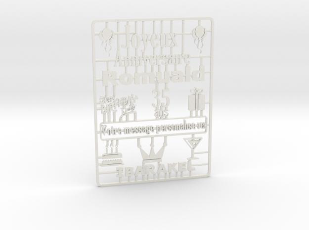card_3dp in White Natural Versatile Plastic