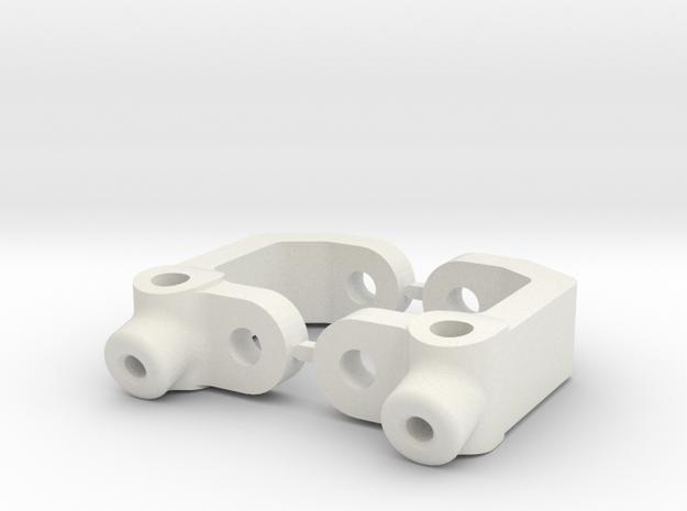 15.0 DEGREE CASTOR - B3 in White Natural Versatile Plastic