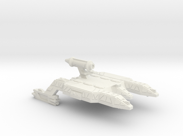 3788 Scale Lyran Refitted JagdPanther CVN in White Natural Versatile Plastic