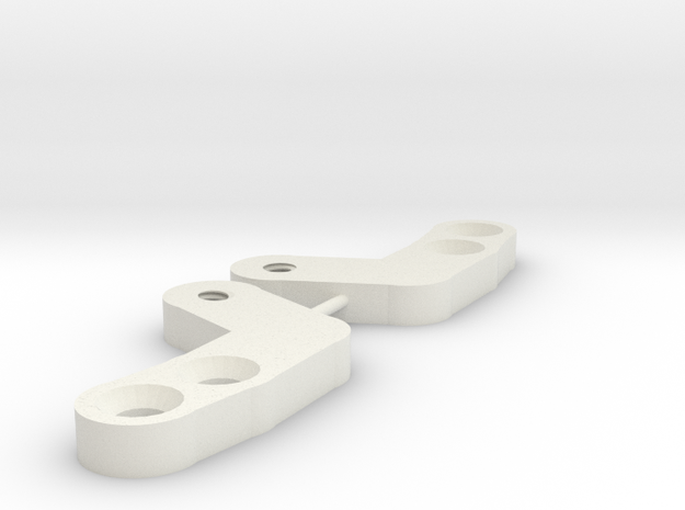 The Ultimate Cc01 Steering Upgrade, A must have... in White Natural Versatile Plastic