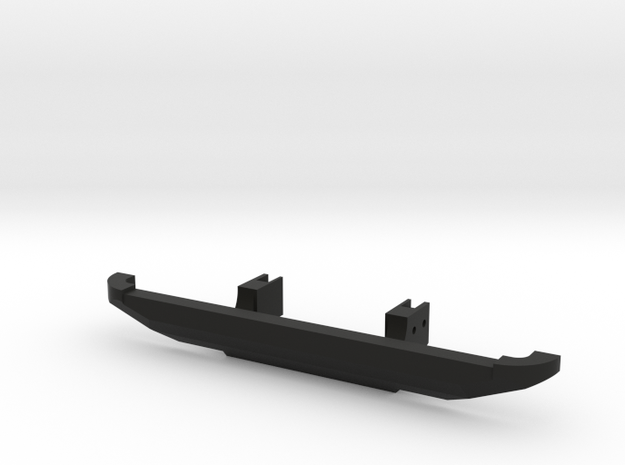 3Racing EX Real Bumper in Black Natural Versatile Plastic