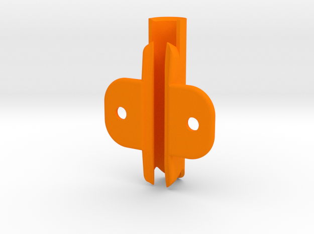 "J80 Sparcraft, Slot 2 3/16"", MastGate in Orange Processed Versatile Plastic"