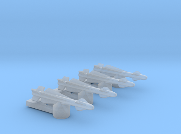 Omni Scale General Type-I Anti-Ship Drones MGL in Smooth Fine Detail Plastic