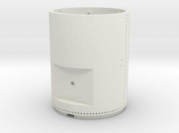 119 Smokebox in White Natural Versatile Plastic