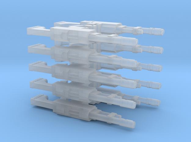 M35 Galaxy Lasgun standard (10 pack) in Smooth Fine Detail Plastic