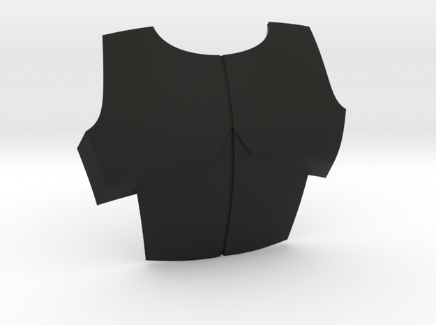 Sideshow ARC Chest Plate in Black Natural Versatile Plastic