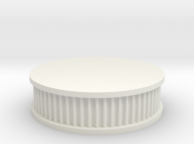 air filter round 1/8 in White Natural Versatile Plastic