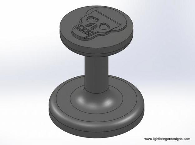 Skull Wax Seal 3d printed