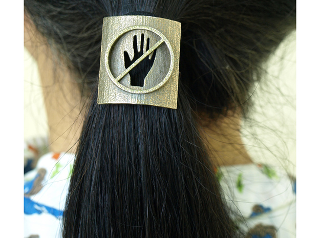 Don't Touch My Hair : No Touching! Hair Tie