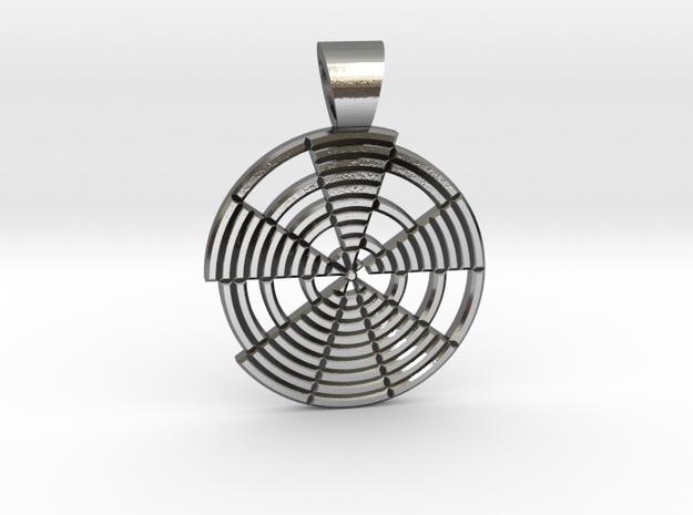 Prime's spiral [pendant] in Polished Silver