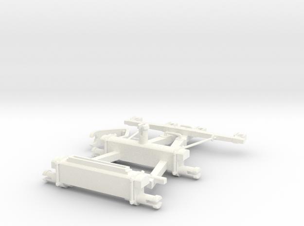 FOURGON ORDINAIRE 1  in White Processed Versatile Plastic