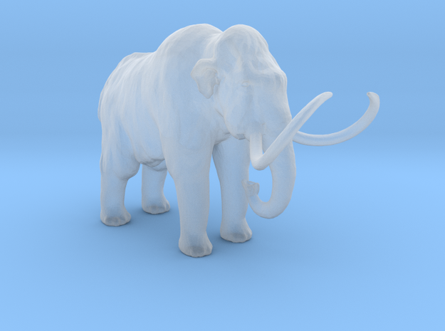 HO Scale Woolly Mammoth
