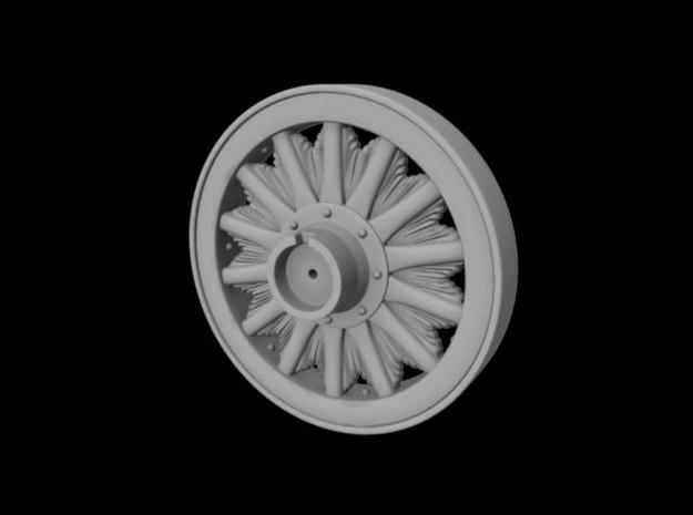 "1/2"" scale 36"" Sunburst wheel. 3d printed"