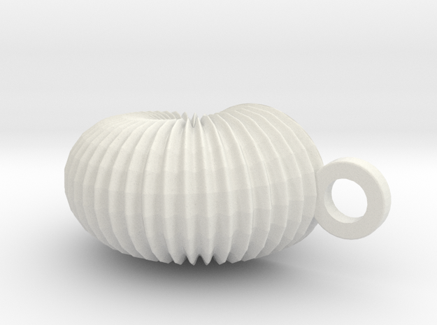 small_shell in White Natural Versatile Plastic
