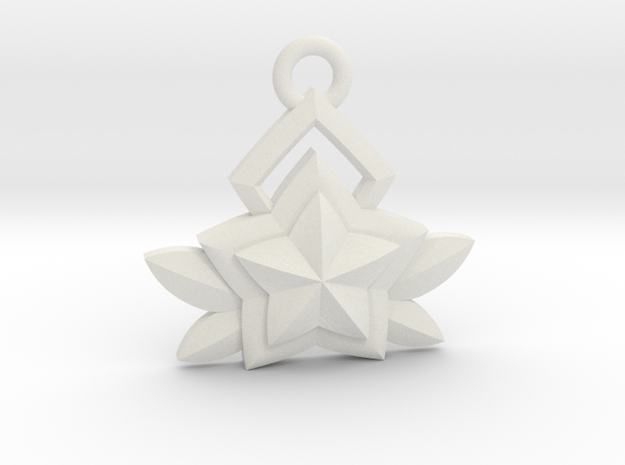 Star Guardian - Janna (Charm) in White Natural Versatile Plastic