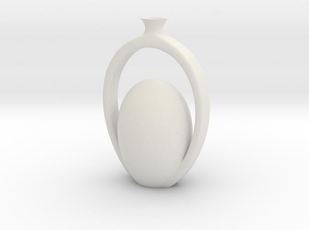 Vase 18221gg in White Natural Versatile Plastic